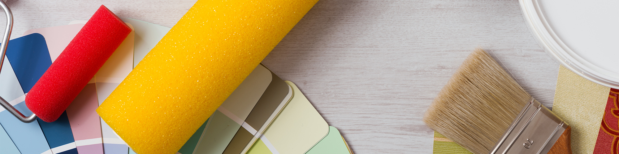 Paint Rollers and Swatches | Kitchen Remodeling in Baltimore, Maryland | KDL Enterprises, LLC
